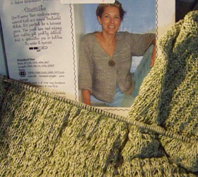Sausalito Sweater in pieces